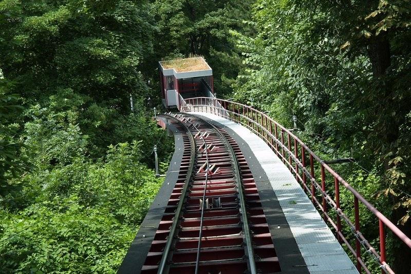 The Dolderbahn em Zurique