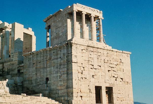 Arquitetura e história do Templo de Atena Nike em Atenas