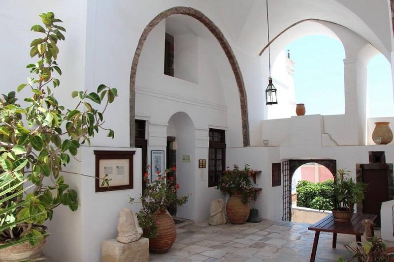 Centro Cultural Megaro Gyzi em Santorini