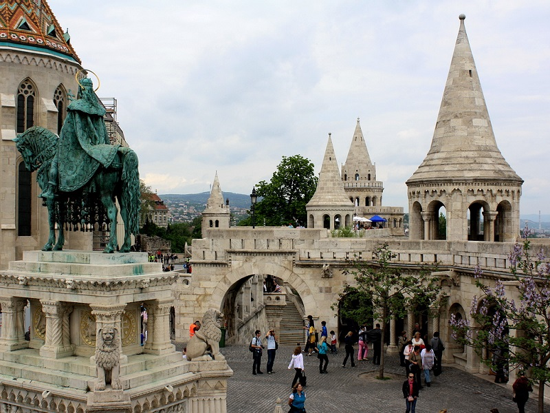 Entrada do Fisherman's Bastion
