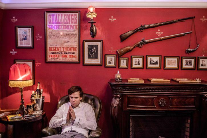 Sala na Casa do Houdini