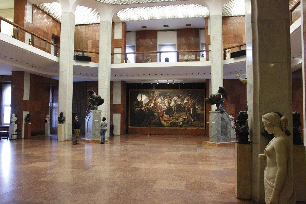 Interior da Galeria Nacional Húngara