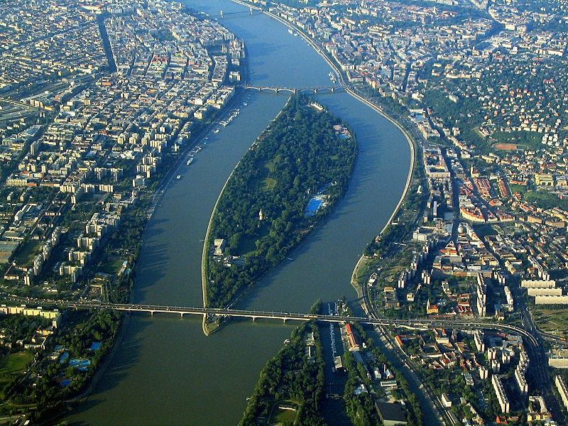 Ilha Margaret em Budapeste