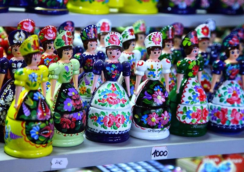Produtos do Mercado Central de Budapeste