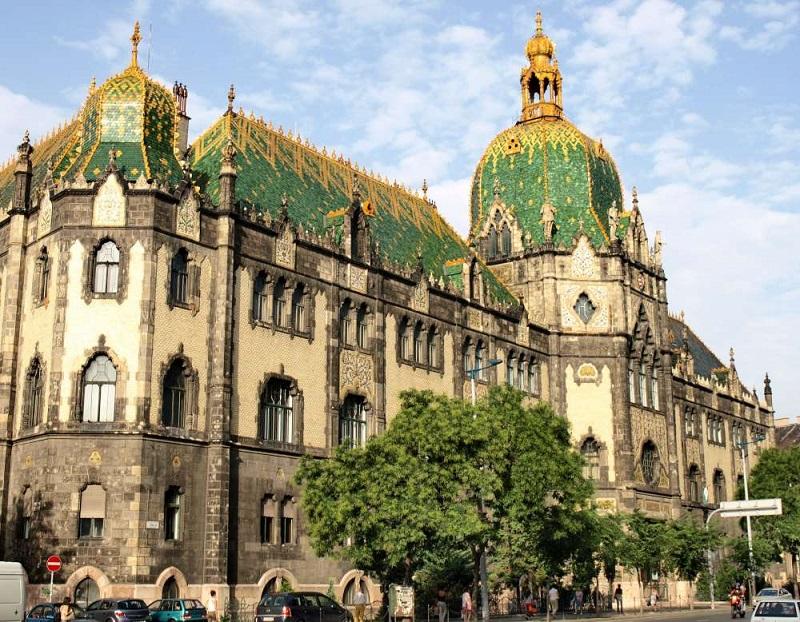 Museu de Artes Aplicadas em Budapeste