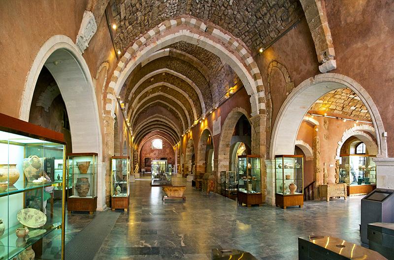 Museus em Creta em Grécia