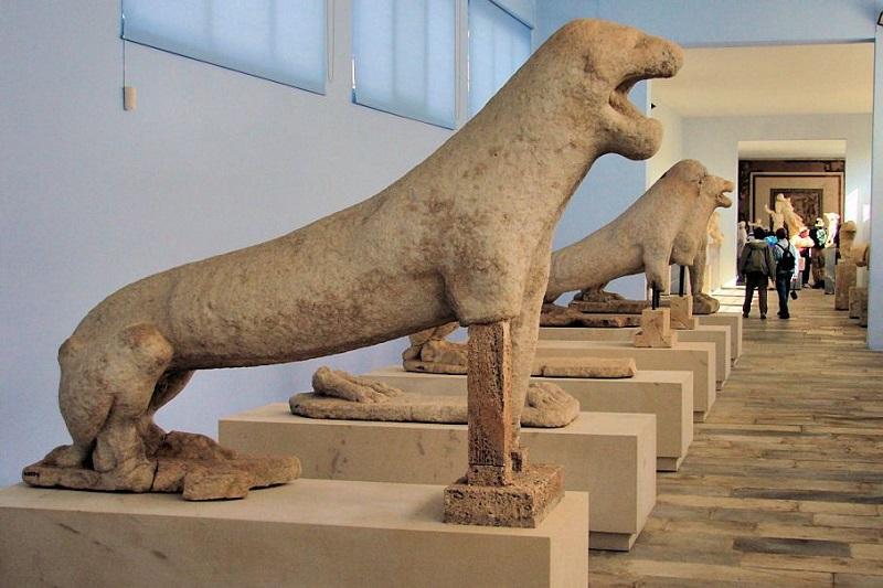 Museus em Mykonos na Grécia
