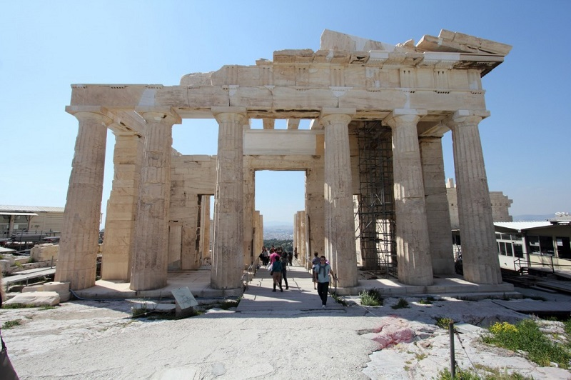 Propileu em Atenas