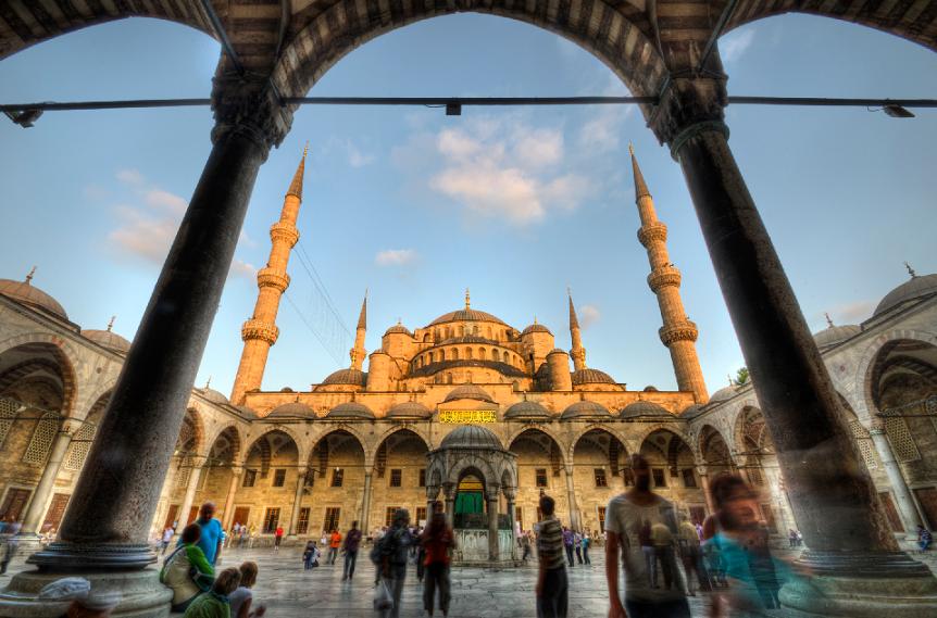 Verão em Istambul na Turquia