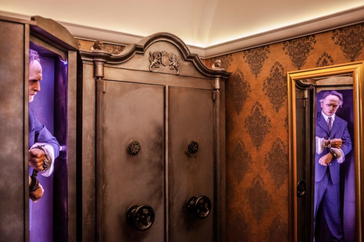 Interior da Casa do Houdini
