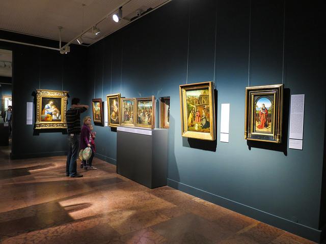 Exposição na Galeria Nacional Húngara