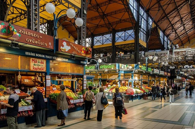 Visita ao Mercado Central de Budapeste