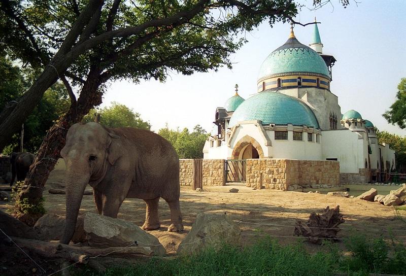 Zoológico de Budapeste no Parque da Cidade