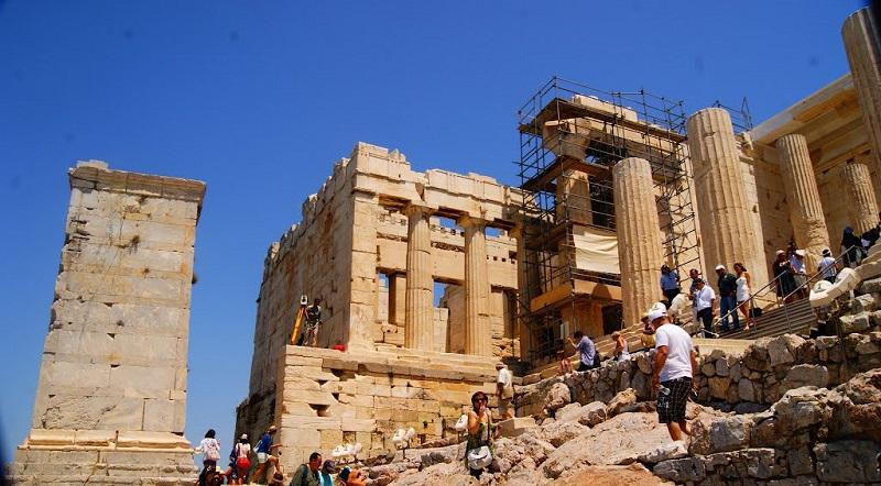 Propileu em Atenas: Acrópole de Atenas