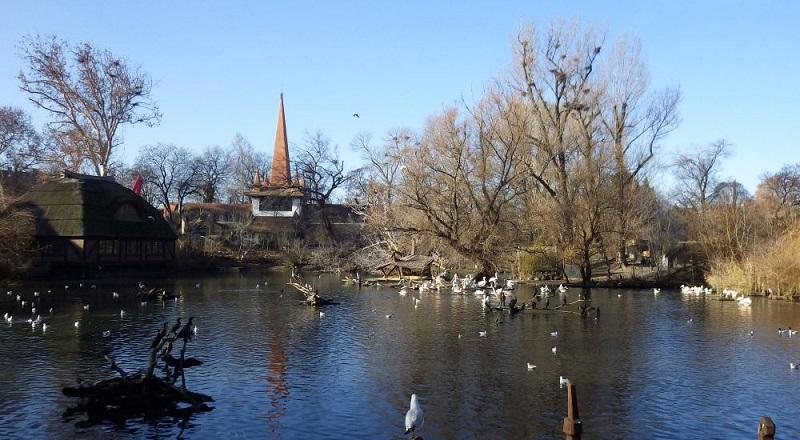 Lago do Zoológico de Budapeste