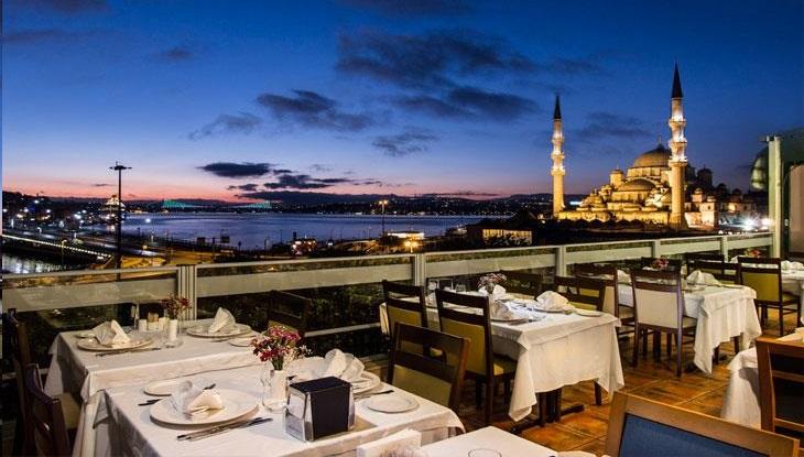 Restaurante Hamdi em Istambul