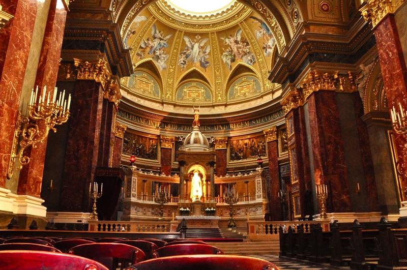 História da Basílica St. Stephen's