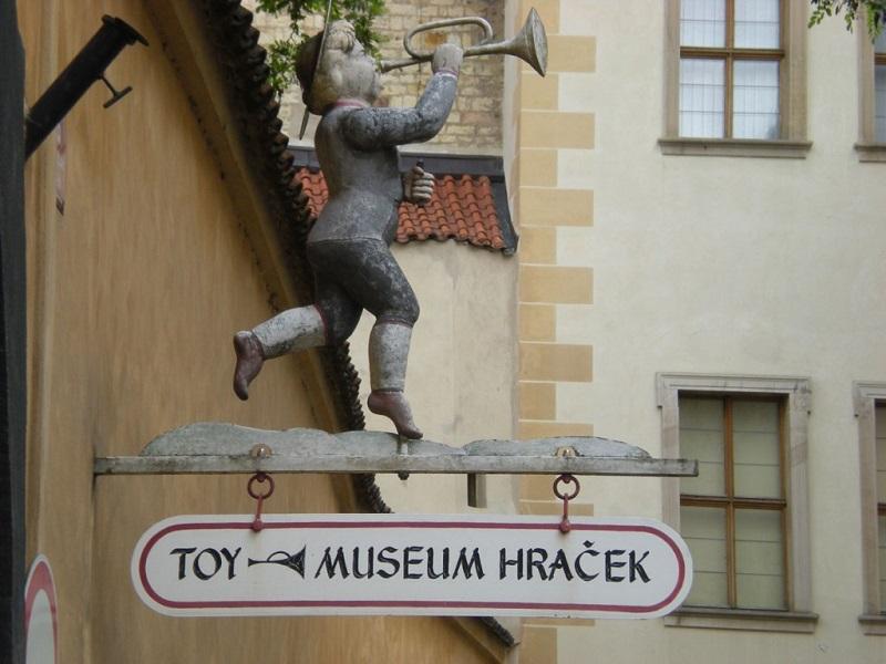 Museu dos Brinquedos em Praga