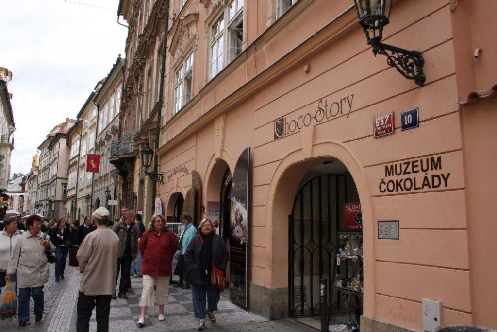 Museu do Chocolate em Praga