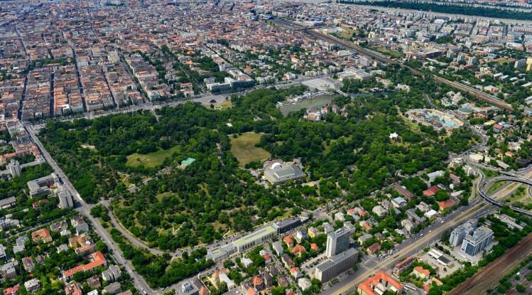 Parque da Cidade em Budapeste