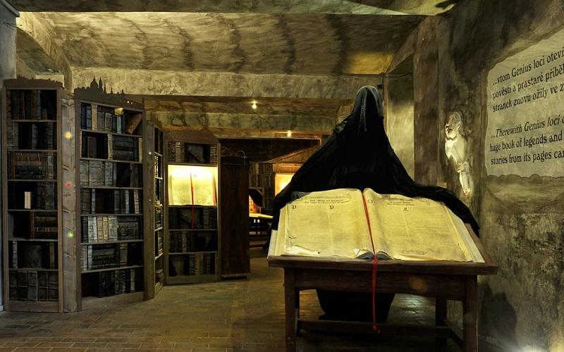 Visita ao Museu de Fantasmas e Lendas