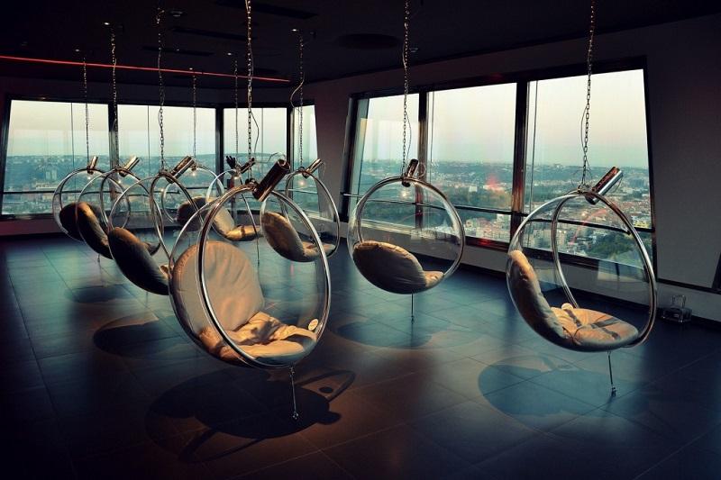Visita à Torre Zizkov