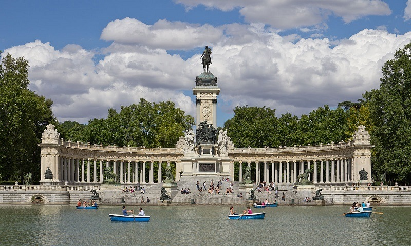 Jardins do Retiro de Madrid