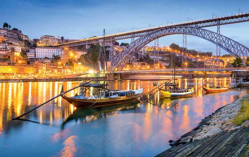 Cruzeiros que saem de Portugal