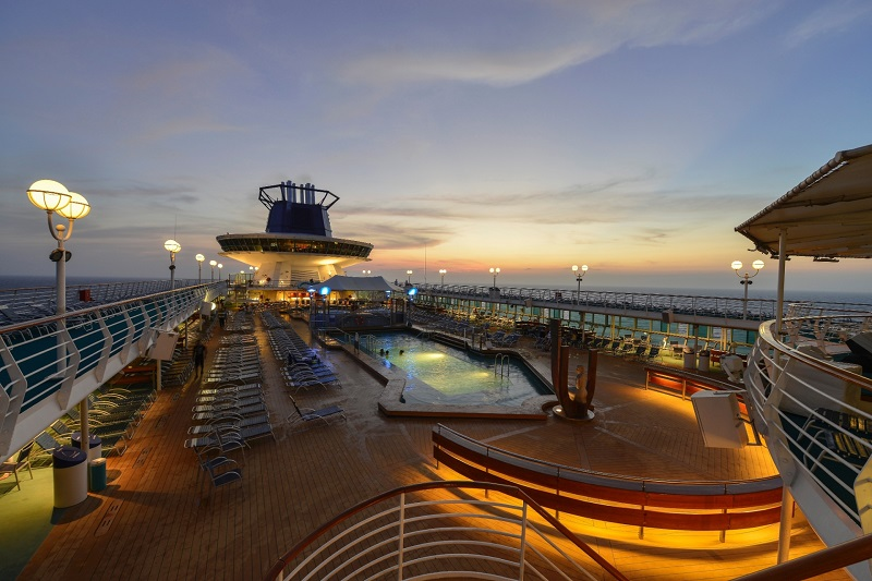 Piscinas do Monarch Pullmantur
